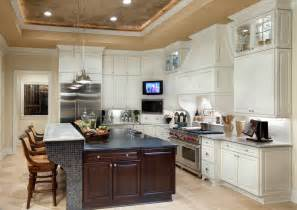 large kitchen island ideas kitchen with large island beautiful homes design