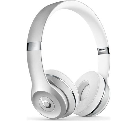 Bluetooth Headphone Beats By Drdre buy beats by dr dre 3 wireless bluetooth headphones silver free delivery currys