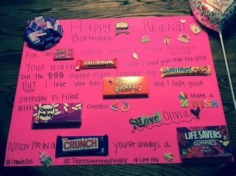 Poster Birthday Card Ideas Birthday Candy Bar Poster Diy Pinterest Candy Bar