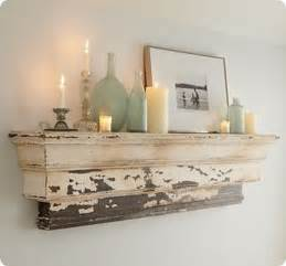 pottery barn shelves decorative mantel ledge
