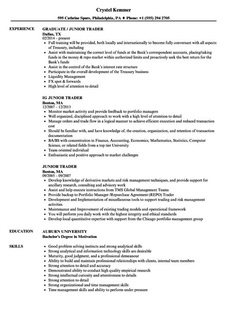 day trader resume description photos