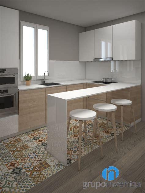decorar cocina roble con tono y columna en roble new home cocinas cocinas