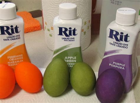 rit color dye shelf and potholders with rit dye