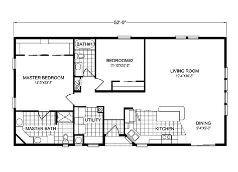 Palm Harbor Mobile Home Floor Plans Key Biscayne Tl28522a Manufactured Home Floor Plan Or