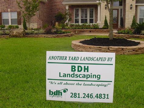 houston landscaping maintenance services
