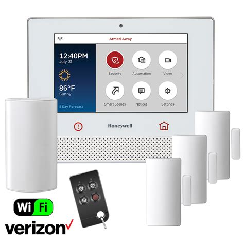 honeywell lyric dual path wireless security system kit