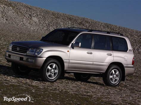 1998 Toyota Land Cruiser 1998 Toyota Land Cruiser 100 Series Picture 15801 Car