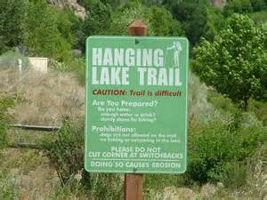 hanging lake colorado map 301 moved permanently