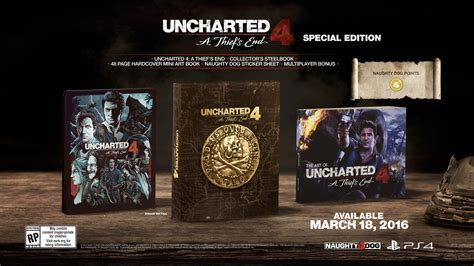 Bd Ps4 Uncharted 4 Se uncharted 4 a thief s end special edition ps4 hern 237 svět cz