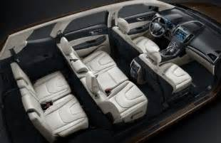 Ford Flex Seating Capacity The All New Ford Edge For China Boasts Three Rows And 7