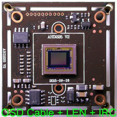 Cctv Sony Exmor ahd m 1280 x 720 1 3 quot sony exmor cmos imx225 image sensor nvp2431 cctv module pcb board