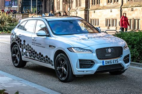 land rover jaguar jaguar land rover starts testing autonomous cars on uk