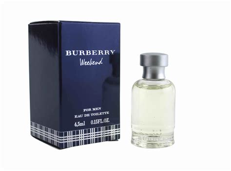 burberry weekend for 4 5ml edt miniature perfume for mini fragrance ebay