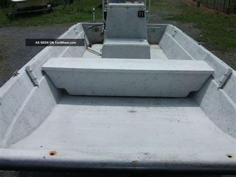 skiff boat console 1988 carolina skiff center console