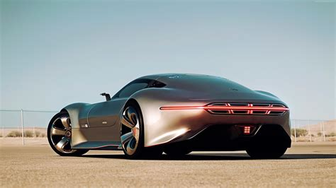 Wallpaper Mercedes Benz AMG Vision, supercar, Gran Turismo