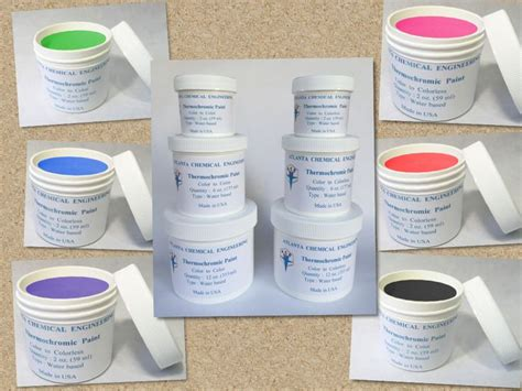 details about thermochromic paint temperature activated color changing paint colors