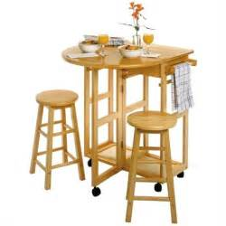 Bar Table And Stool Set Mobile Breakfast Bar Table Set With 2 Stools In 89332