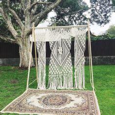 Wedding Backdrop Hire Adelaide by 25 Bohemian Macrame Knotted Wedding Decor Ideas Wedding