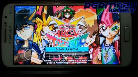 yugioh android psp ppsspp yu gi oh arc v tag special patched on android