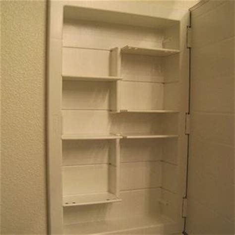 build recessed shelves build a recessed cabinet home ideas for meredith