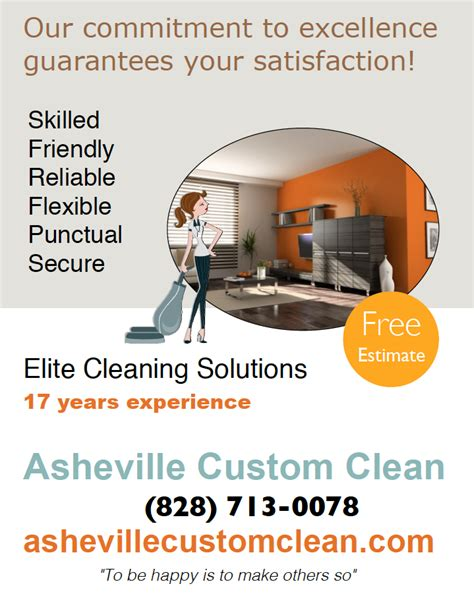 How To Make A Cleaning Service Flyer cleaning business flyer