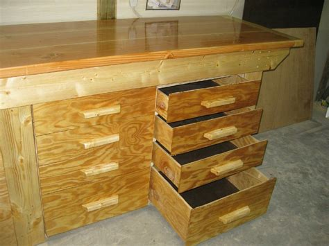 Workbench Drawer Plans by Workbench And Drawer Units By Knotcurser