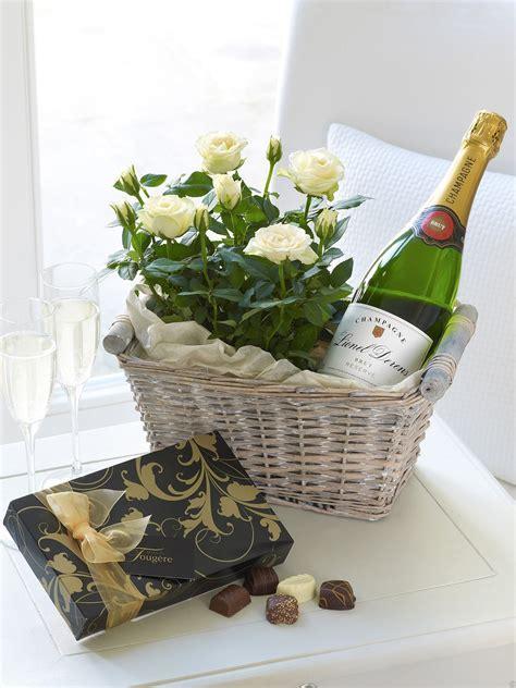 The Flower Garden Luxury Champagne Gift Basket The Flower