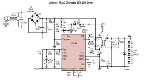 Idea Lamp how to make led lamp 220v 50hz input circuit by using 1
