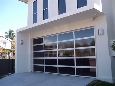garage door design contemporary doors residential glass