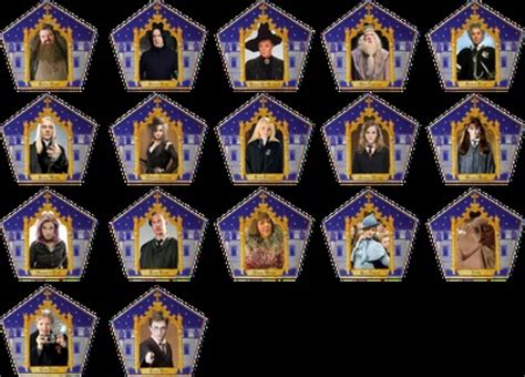harry potter wizard card template 26 best images about harry potter chocolate frogs on