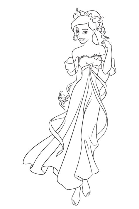 princess sissi coloring pages princesas disney dibujos para colorear de quot encantada quot
