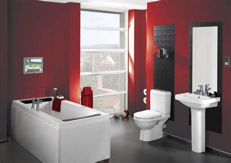 red bathroom decorating ideas simple bathroom decorating ideas midcityeast