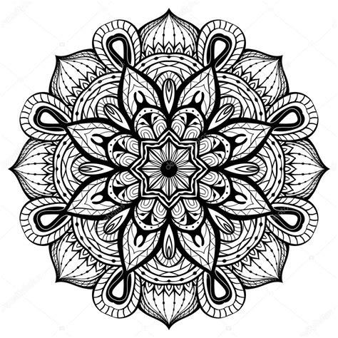 mandala coloring pages vector osten abstrakt vektor mandala auf wei 223 em hintergrund