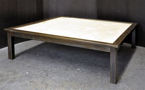Steel Coffee Table Dorset Custom Furniture A Woodworkers Photo Journal A Steel And Coffee Table