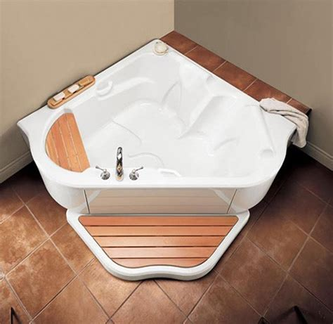 corner bathtubs with jets corner air jet bath tub tmu from bainultra two person bath