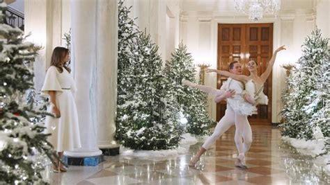 decoracion de navidad melania trump la excesiva decoraci 243 n navide 241 a de melania trump en la