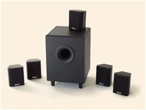 klh hta 4100 6 pc 5 1 surround sound home theater system