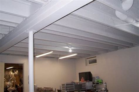 basement ceiling ideas cheap