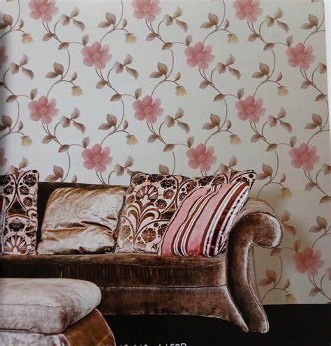 Wallapaper Motif Bunga jual wallpaper dinding motif bunga wallpaper dua