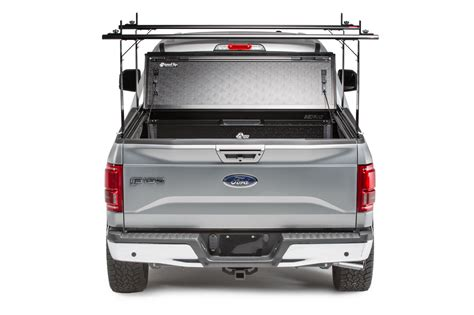tonneau cover rack 2015 2017 bakflip cs ford f 150 raptor hard folding tonneau cover rack combo 5 6 quot bed