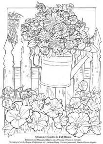 summer coloring pages for adults summer flowers coloring pages