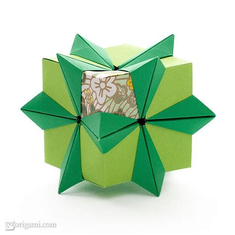 Origami Cube - modular origami cube www imgkid the image kid has it