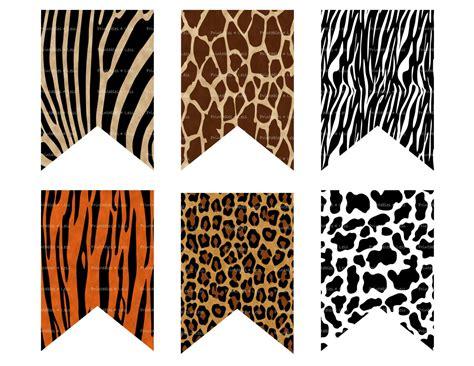 printable animal birthday banner animal print banner wild animal banner safari banner jungle