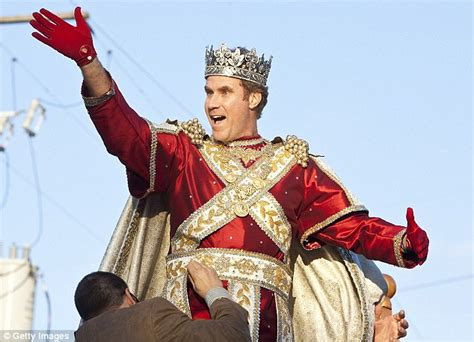 Will Ferrell Powers Funnyman Will Ferrell Is Serious About His As King