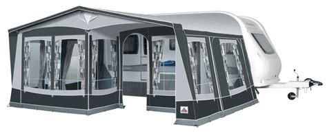 Caravan And Awning by Dorema Royal 350 Caravan Awning