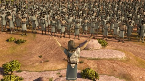 gideons army superbook video clip midianites defeated watch online