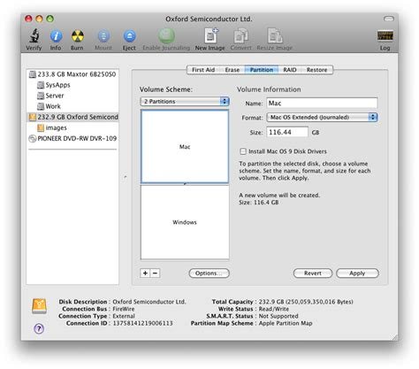 format hard drive journaled mac os extended create a dual format drive for mac and windows
