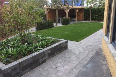 verhoogde tuin tuin met verhoogde bakken aanleggen in zoetermeer