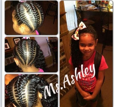 kids scalp braids with loose ends 335 best images about kids hairstyles on pinterest flat