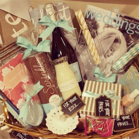 amazing gifts for her amazing engagement gift basket gift ideas pinterest